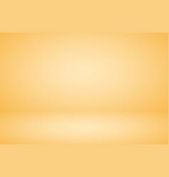 Empty pastel beige studio abstract background vector