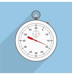 Flat Stopwatch vector