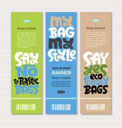 keep bag lettering vector image