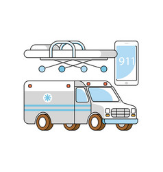 medical aid concept vector image