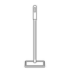 Sponge mop icon outline style vector