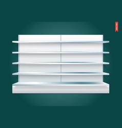 100 shelves long vector