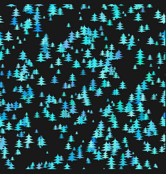 Abstract random pine tree pattern background - vector