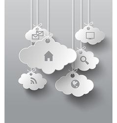 Cloud perper vector
