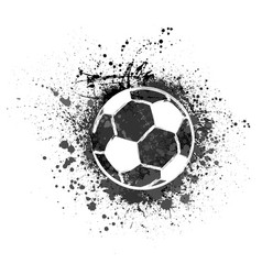 Football grunge background vector