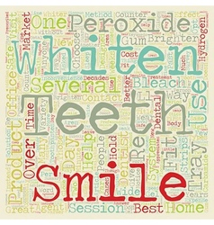 How d You Get That Great Smile text background vector image