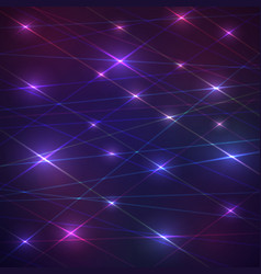 laser glowing background vector image