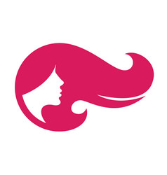 Logo for woman salons and shops vector