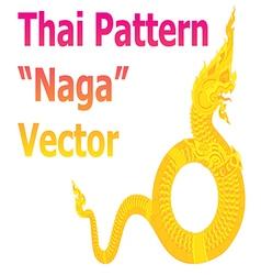 Naga vector image