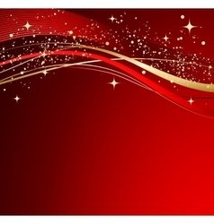 Red christmas abstract background vector