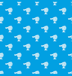 reel film pattern seamless blue vector image