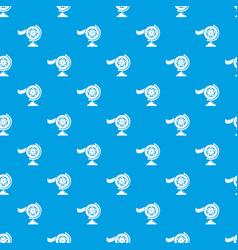 reel film pattern seamless blue vector image