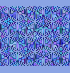 seamless geometric abstract unusual pattern vector image