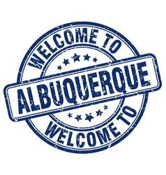 Welcome to albuquerque vector