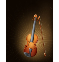 A string instrument vector image vector image