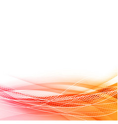 Bright swoosh dynamic line abstract background vector