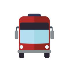 bus public transport vector image