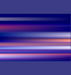 Colorful abstract speed motion blur of night vector
