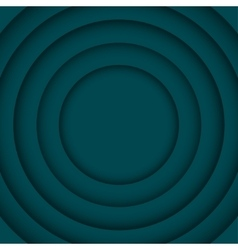 Concentric Turquoise 6 Circle Background vector image