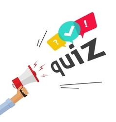 Concept of questionnaire show sing question vector image