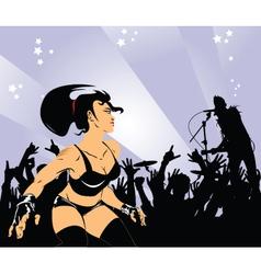 dance carousel vector image