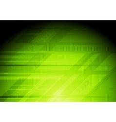 Green technology design vector image