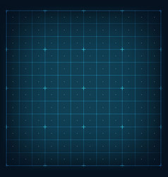 Grid interface hud vector