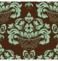 Ornamental floral background vector