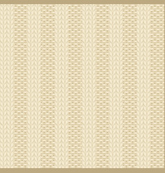Rib knit pattern vector