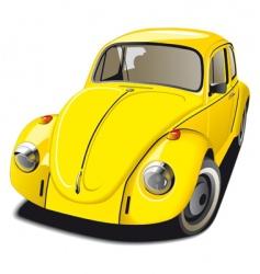 Volkswagen Beetle vector