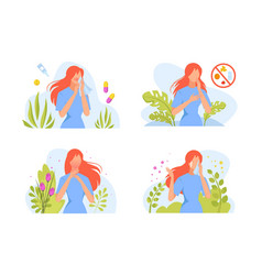 Allergic reactions in humans set female character vector