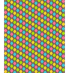 Bright abstract diamond shape seamless pattern vector image