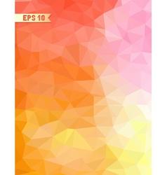 Geometric retro background vector