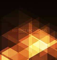 Glowing abstract orange background vector