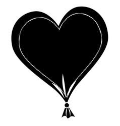 Heart love balloon air vector