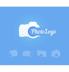 Photocamera Logotype vector