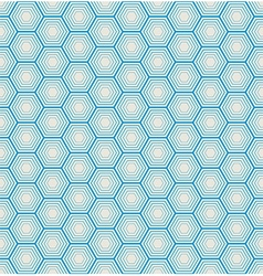 Seamless hexagon background vector