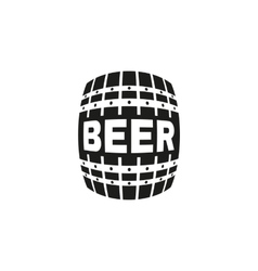 The Beer icon Cask and keg alcohol symbol UI vector image