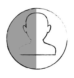 User man avatar icon vector