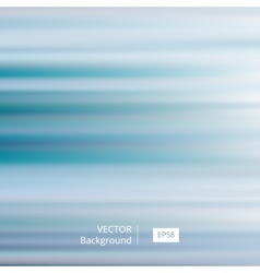 Abstract Blue Striped and Blurred Background vector image vector image