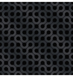 carbon flow background vector image vector image
