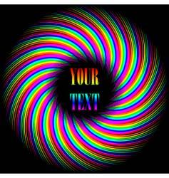 background swirl vector image