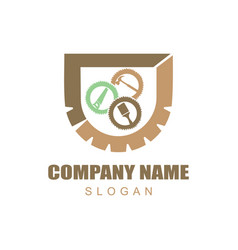 Carpentry logotype vector