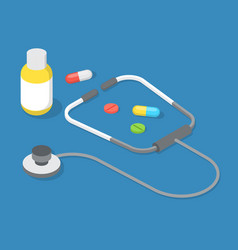 collection doctor s tools or instruments vector image