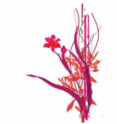 wild flowers vector image vector image