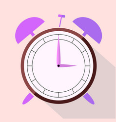 the dial of the alarm clock vector image