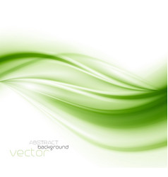 abstract background green vector image