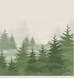 forest5 vector image vector image