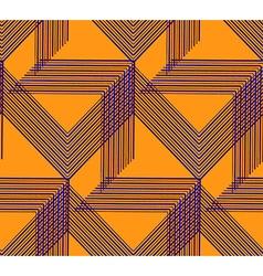 Geo pattern13 vector image vector image