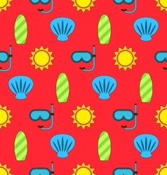 Colorful Seamless Wallpaper or Background vector image